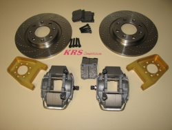 Set rear brake 266 Alcon for 205-309 VE