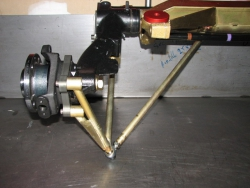 Rear axle Evo VE with axle of the already strengthened cust
