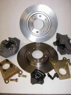 Kit of brakes rear 205 Gr A, caliper with AP for disks 266m/m