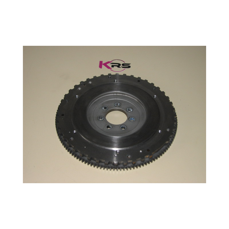 Flywheel machining for bi-disc or mono-disc