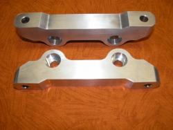 Support étrier Peugeot pour disq 315 étrier CP5040-2/4S4